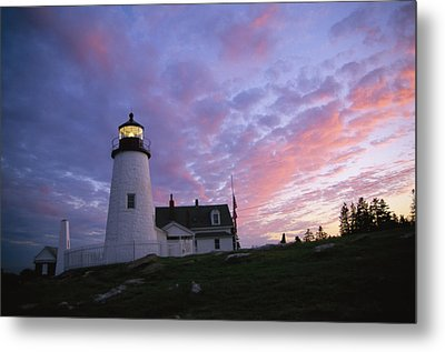 Sunset Tints The Sky Metal Print by Stephen St. John