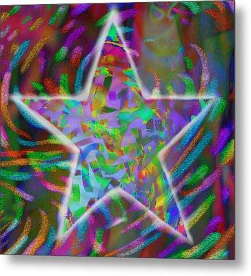 Super Star Metal Print by Kevin Caudill
