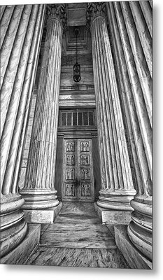 Supreme Court Building 11 Metal Print by Val Black Russian Tourchin