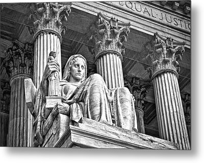 Supreme Court Building 15 Metal Print by Val Black Russian Tourchin