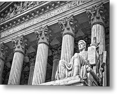 Supreme Court Building 18 Metal Print by Val Black Russian Tourchin