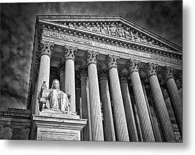 Supreme Court Building 6 Metal Print by Val Black Russian Tourchin