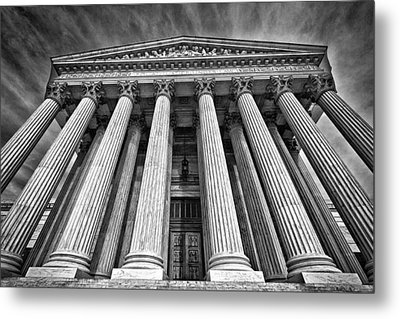 Supreme Court Building 8 Metal Print by Val Black Russian Tourchin