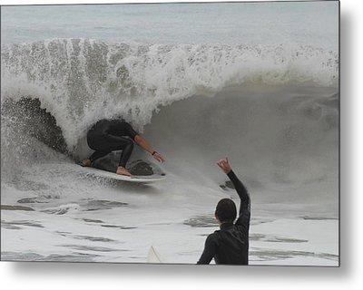 Surfing 209 Metal Print by Joyce StJames