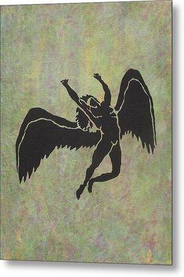 Swan Song Metal Print by Erika Betts