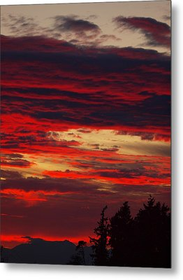 Tacoma Sunset 3 Metal Print by Jim Moore
