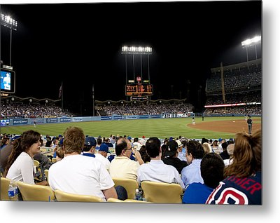 Take Me Out To The Game Metal Print by Malania Hammer