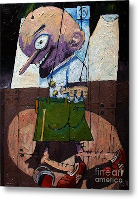 Talent Scouting Metal Print by Charlie Spear