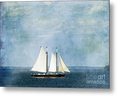 Metal Print featuring the photograph Tall Ship by Alana Ranney