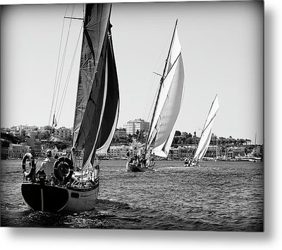 Metal Print featuring the photograph Tall Ship Races 2 by Pedro Cardona