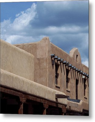 Taos Market Metal Print