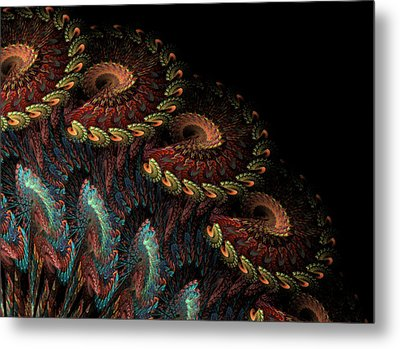Metal Print featuring the digital art Tapestry by Kathleen Holley