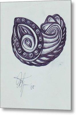 Tatoo 08 Metal Print by Xole