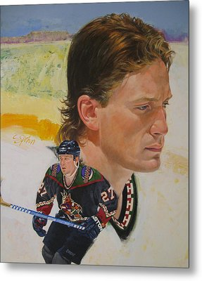 Teppo Numminen Metal Print by Cliff Spohn