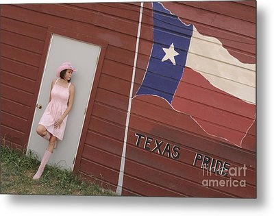 Metal Print featuring the photograph Texas Pride by Sherry Davis