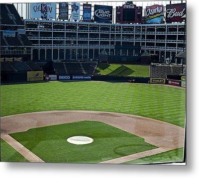 Texas Stadium Metal Print by Malania Hammer