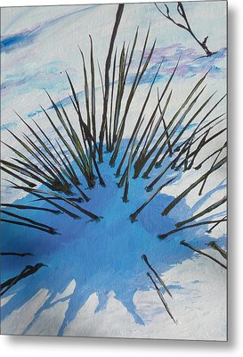 Thaw Metal Print by Sandy Tracey