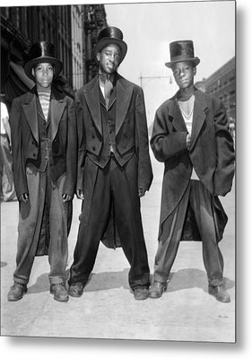 The African American Teenagers Metal Print by Everett