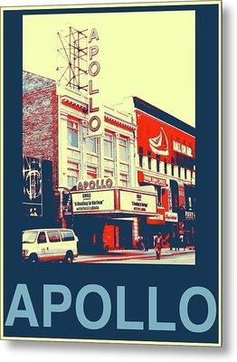 The Apollo Metal Print by Marvin Blatt