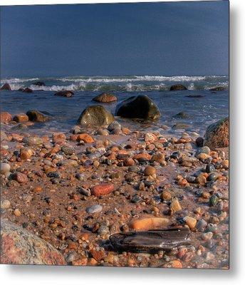 The Beach Metal Print by David Hahn