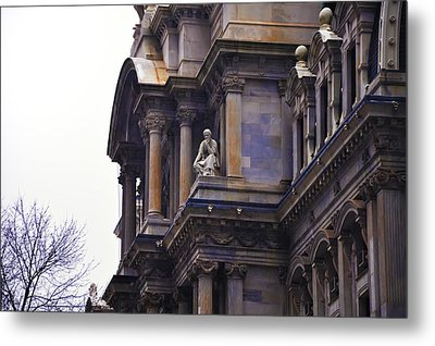 The Beauty Of Philadelphia City Hall Metal Print by Bill Cannon