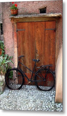 Metal Print featuring the photograph The Bicycle by Emanuel Tanjala
