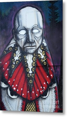 The Chief Metal Print by Bob Christopher