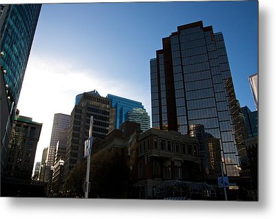 Metal Print featuring the photograph The Day Begins Vancouver Canada by JM Photography