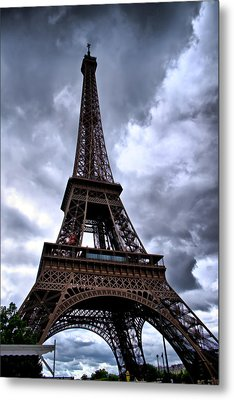 The Eiffel Tower Metal Print by Edward Myers