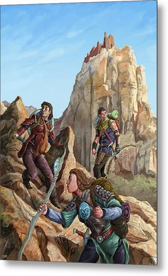 The Explorers Color Metal Print by Storn Cook