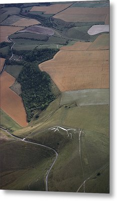 The Famed Uffington Metal Print by James P. Blair