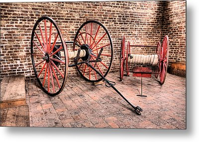 The Firehouse Metal Print by JC Findley