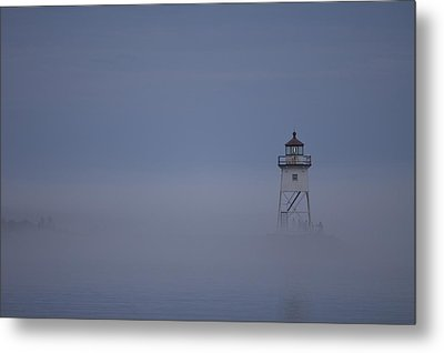 The Fog Rolls In Metal Print by Kate Purdy
