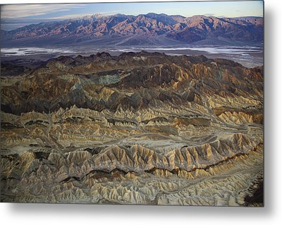 The Foothills Of Amargosa Canyon Metal Print by Michael Melford