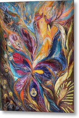 The Galilee Iris Metal Print by Elena Kotliarker