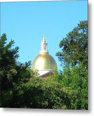 The Gold Dome Metal Print by Bruce Carpenter