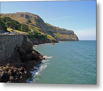 The Great Orme Coastline Metal Print by Rod Johnson