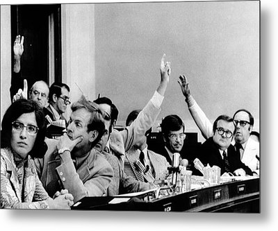 The House Judiciary Committee. The Metal Print by Everett
