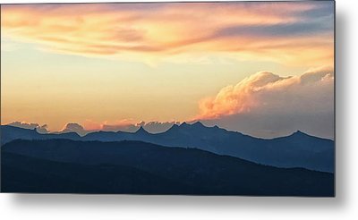 Metal Print featuring the photograph The Idaho Selkirks by Albert Seger
