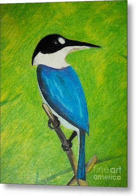 The King Fisher Metal Print