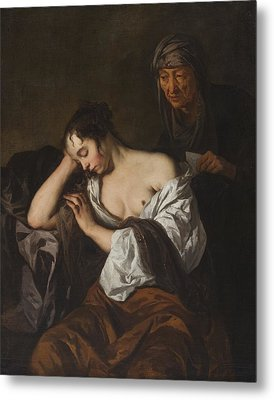 The Letter Metal Print by Sir Peter Lely
