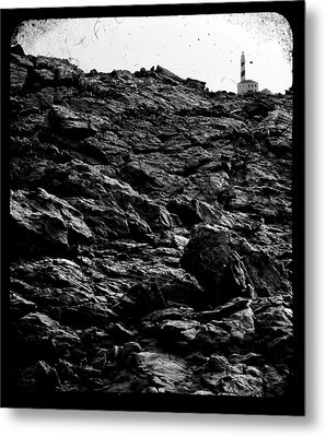 Metal Print featuring the photograph The Lighthouse1 by Pedro Cardona