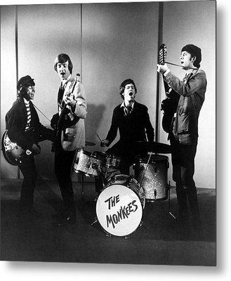 The Monkees, L-r Davy Jones, Peter Metal Print by Everett
