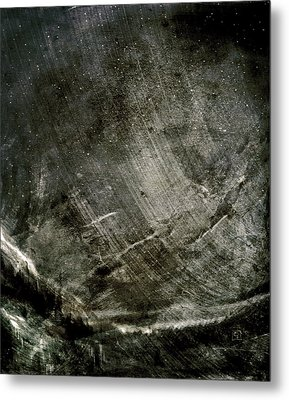 Metal Print featuring the digital art The Mountain Pass by Jean Moore