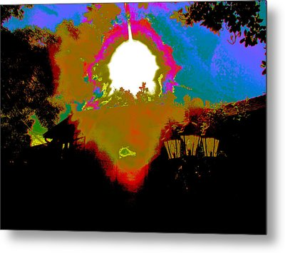 The Other Side Metal Print by HollyWood Creation By linda zanini