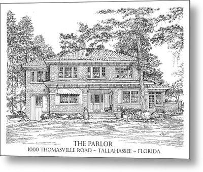 The Parlor Tallahassee Florida Metal Print