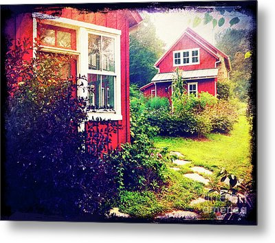 The Potting Shed Metal Print by Kevyn Bashore