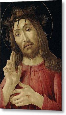 The Resurrected Christ Metal Print by Sandro Botticelli