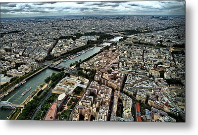 The Seine River 2 Metal Print by Edward Myers