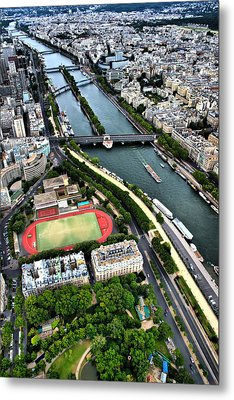 The Seine River Metal Print by Edward Myers